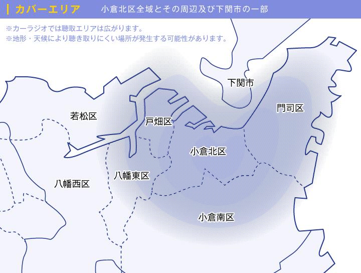 放送エリア| 北九州市小倉北区...